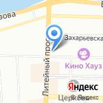 Информационный центр на карте Санкт-Петербурга
