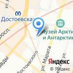 Маллина на карте Санкт-Петербурга