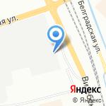 Лесенка на карте Санкт-Петербурга