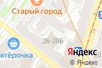 Схема проезда до компании KELLER в Санкт-Петербурге