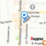 PlatinumPen.ru на карте Санкт-Петербурга