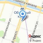 TIKKURILA и TEKNOS на карте Санкт-Петербурга