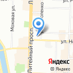 EMILE MARQU на карте Санкт-Петербурга