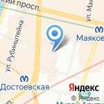 Детский сад №112 на карте Санкт-Петербурга