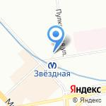 КБ Ренессанс кредит на карте Санкт-Петербурга