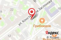 Схема проезда до компании Контраст в Санкт-Петербурге