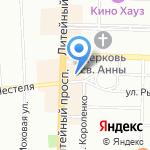Шанс на карте Санкт-Петербурга