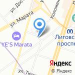 ЕВРОЦЕНТР24 на карте Санкт-Петербурга