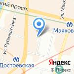 Институт независимой финансовой экспертизы на карте Санкт-Петербурга