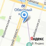 Хелен на карте Санкт-Петербурга