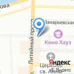 PRZNECKA PRIZNA на карте Санкт-Петербурга