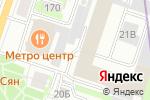 Схема проезда до компании Полотна и Кнопки в Санкт-Петербурге