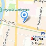 Медицинская Палата Санкт-Петербурга на карте Санкт-Петербурга