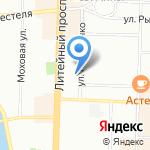 Львиная Доля на карте Санкт-Петербурга