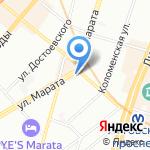 Честный Петербург на карте Санкт-Петербурга