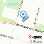 Ядерно-Физические Исследования на карте Санкт-Петербурга