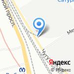 Балтэлектромонтаж-300 на карте Санкт-Петербурга