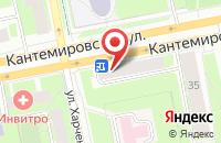 Схема проезда до компании Компас в Санкт-Петербурге