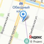 Unident servise на карте Санкт-Петербурга