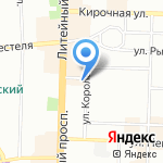 Детский сад №8 комбинированного вида на карте Санкт-Петербурга
