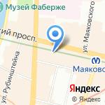 Эмирейтс на карте Санкт-Петербурга