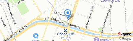 Бульбашъ на карте Санкт-Петербурга