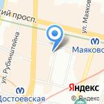 Canny House на карте Санкт-Петербурга