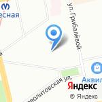 Гард-Техно на карте Санкт-Петербурга