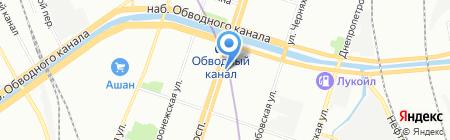 По карману на карте Санкт-Петербурга