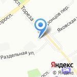 Слэш на карте Санкт-Петербурга