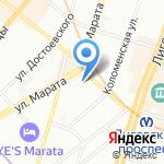 Премьер Плюс на карте Санкт-Петербурга