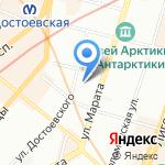 Дорстройтех на карте Санкт-Петербурга