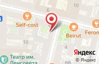 Схема проезда до компании Келла-Студио в Санкт-Петербурге