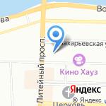 Экспертный Совет на карте Санкт-Петербурга