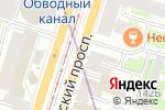 Схема проезда до компании Оранж в Санкт-Петербурге