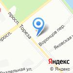 Ардо Студио на карте Санкт-Петербурга