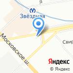 Check car на карте Санкт-Петербурга