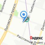 More Studio на карте Санкт-Петербурга