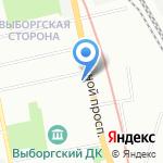 Школа Каратэ Кекусинкай на карте Санкт-Петербурга