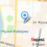 OASIS на карте Санкт-Петербурга