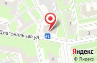 Схема проезда до компании Пр-Пресс в Санкт-Петербурге