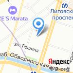 Smila на карте Санкт-Петербурга