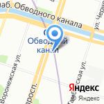 Premium shine на карте Санкт-Петербурга