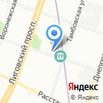 АКВАЛАЙФ на карте Санкт-Петербурга