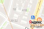 Схема проезда до компании Тех Центр в Санкт-Петербурге