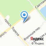 Климатическая Компания Цернис на карте Санкт-Петербурга