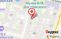 Схема проезда до компании Психосоматика в Санкт-Петербурге