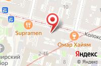 Схема проезда до компании Строительная Компания «Альянс» в Санкт-Петербурге