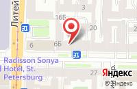Схема проезда до компании Стилос в Санкт-Петербурге