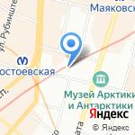 Фантазия на карте Санкт-Петербурга